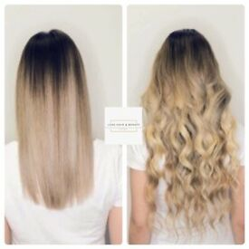 Microrings, LA Weave and Nanoring Extensions, from £200 for a full set