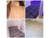 FLOOR LAYER Carpets - vinyls - laminates - lvt tiles - any floor coverings we can install