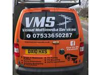 Vms aireal supply and fitted
