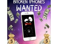 Faulty iPhones wanted