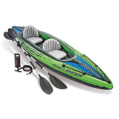 intex 69627 Kayak Kajak /& Schlauchboote Paddel Set 244 cm Alu Doppelpaddel