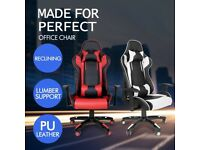 Brand New Gaming / Office chair's Red and White