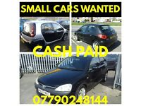 WANTED ANY LOW cc CARS ,,,CASH TODAY IN BRISTOL