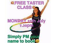 FREE Powerhoop taster class. Markinch