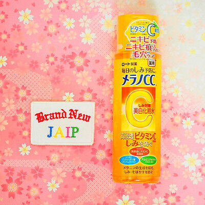 MELANO CC☆ROHTO Japan-Anti-Spot Whitening Lotion 170mL with Vitamins C, E ,JAIP