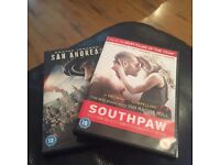 Southpaw and San Andreas