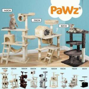 PaWz Cat Tree Scratching Post Scratcher Tower Condo House Furniture