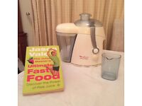 Molinuex Juicer & Jason Vale Recipe Book