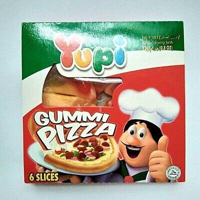 Yupi Gummi Pizza Fruity Gummy Candies Real Fruit Juice ,Vitamin C Gelatin 23 - Gummy Pizza
