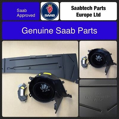 GENUINE SAAB 9-3 03-2010 ACC Heater Fan, Resistor and Guard Plate - 13250116