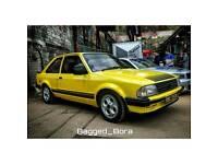 Ford classic xr3