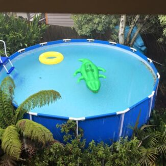 Pool 15ft above ground and sand filter Heathmont Maroondah Area Preview