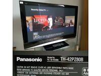 "Panasonic TH42PZ80 42"" Full HD 1080p Plasma screen"