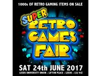 The SUPER Retro Games Fair - 1000s of retro gaming items on sale!!