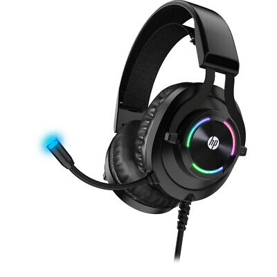HP Wired Gaming Headset with Microphone for Xbox One Controller, PS4, PC, Laptop