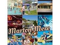 2 PRIVATELY OWNED STATIC CARAVANS TO LET ON MARTON MERE HAVEN HOLIDAY VILLAGE BLACKPOOL