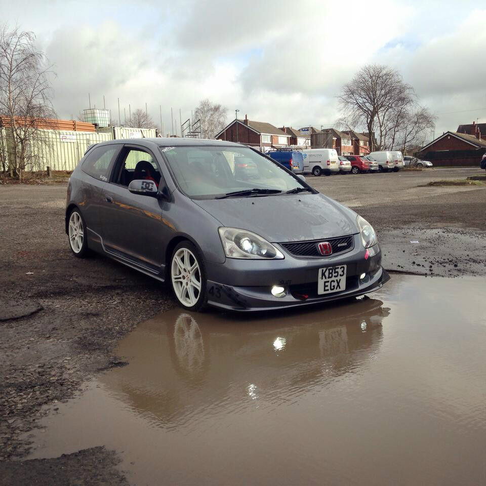 honda civic ep2 type r replica jdm 1 6 vtec modified in. Black Bedroom Furniture Sets. Home Design Ideas