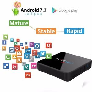 NEW! UPGRADED MX/R PRO 4/32GB ANDROID TV BOX KODI DUAL WIFI BT NETFLIX Hallam Casey Area Preview