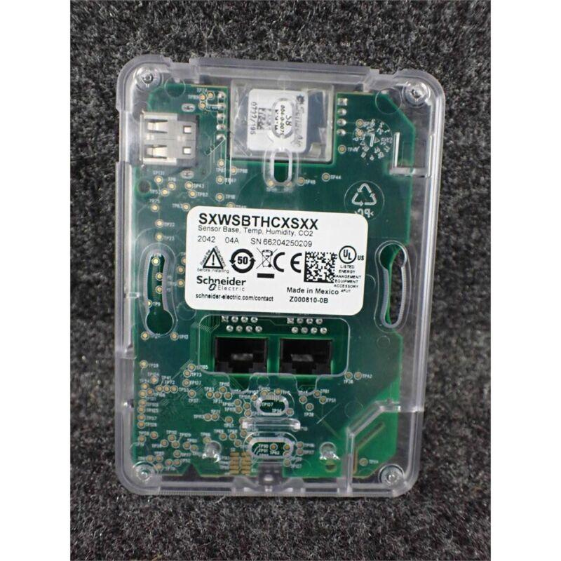 Schneider Electric SXWSBTHCXSXX SmartX Temperature/Humidity/CO2 Sensor Wall Base