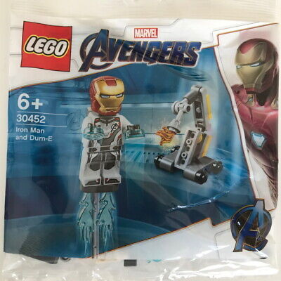 Lego 30452 Marvel Avengers Iron Man and Dum-E polybag BNIB NEW SEALED