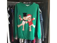 Peacocks Christmas jumper size small
