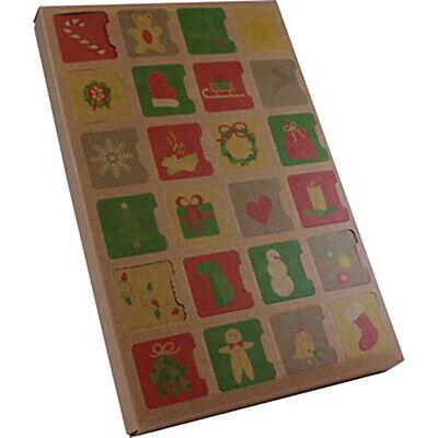 Advent Calendar Chocolate or Cookie Box