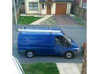 Ford transit 260 2.0 in sport blue, brown Bentley style seats