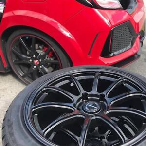 Honda CIVIC FK8 TYPE R winter tires n rims package special,  225/45R18 245/40r18 and more