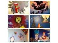 Mural & Artisic Services - Wall Murals, Canvases & Art Commissions