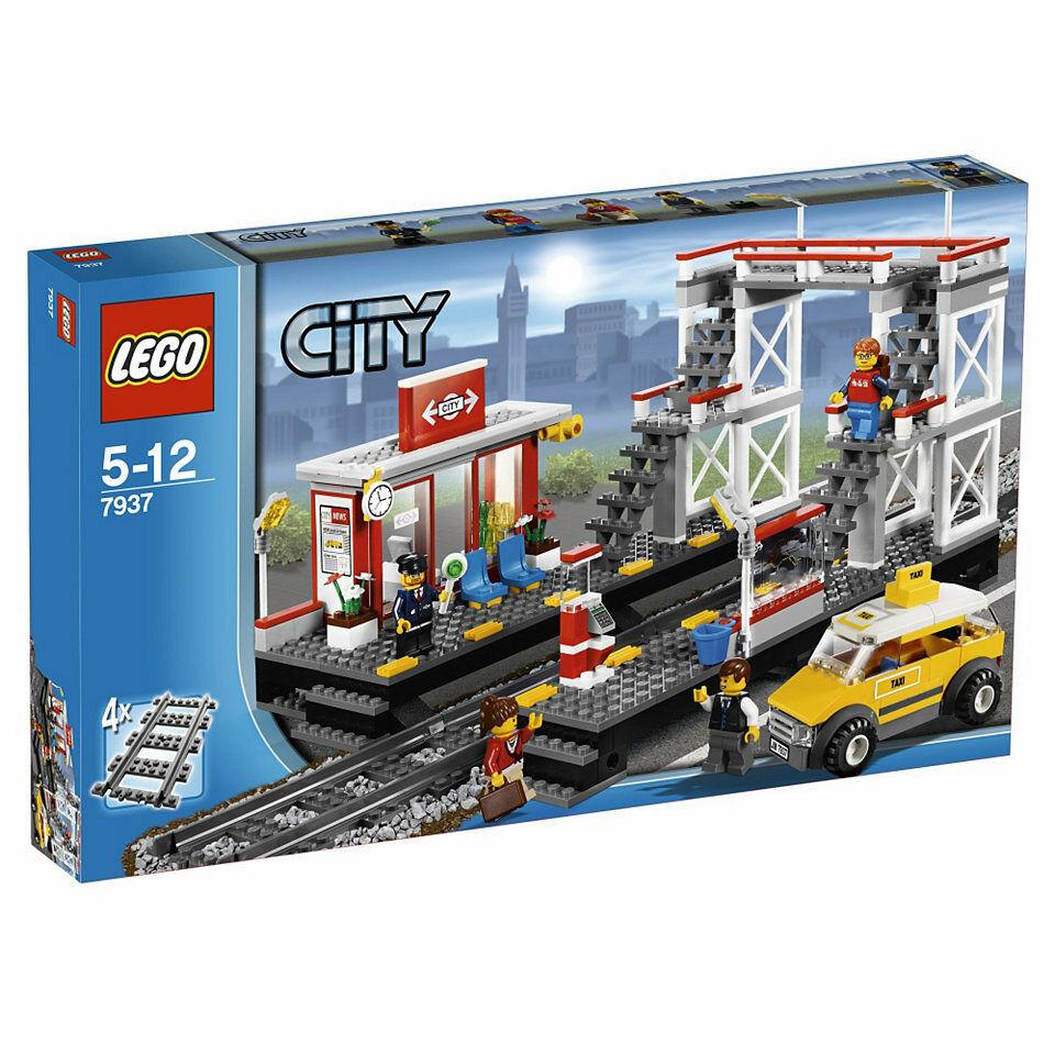 LEGO City - Bahnhof 7937 - sehr guter Zustand