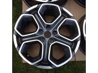 19 inch genuine Renault Kadjar alloy wheels (fits:Nissan Qashqai ,X-trial)