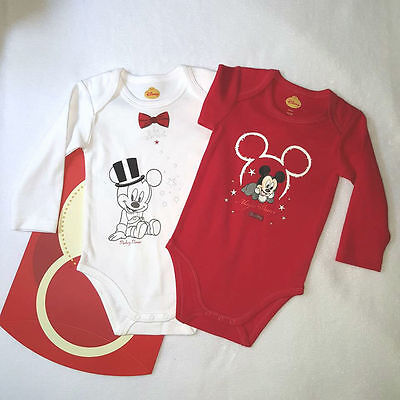 Lot de 2 bodies MICKEY