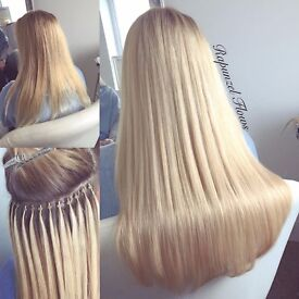 Micro Ring & Copper Tube Hair Extensions - Weft & Individuals