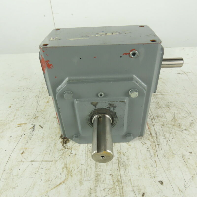 Dayton 6Z460A Worm Gear Box Speed Reducer 20: 1 Ratio 88RPM