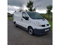 NO VAT 2006 56 RENAULT TRAFIC 1.9 DCI 100 SL27, ONE PREVIOUS OWNER, PX WELCOME