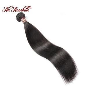 "Brazilian Straight Human Hair 100% Remy Hair Weave Bundles Natural Black 10""-28"" Inch Free Shipping"