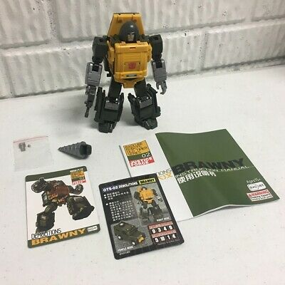 Badcube Brawny OTS-02 Transformers Masterpiece 3rd Party Brawn