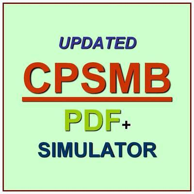 Ism Certified Professional Supply Management Bridge Cpsmb Test Cpsm Exam Qa Sim