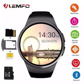 KW18 Smart Watch Men Call Heart Rate Pedometer Sport Waterproof Smartwatch For Android IOS