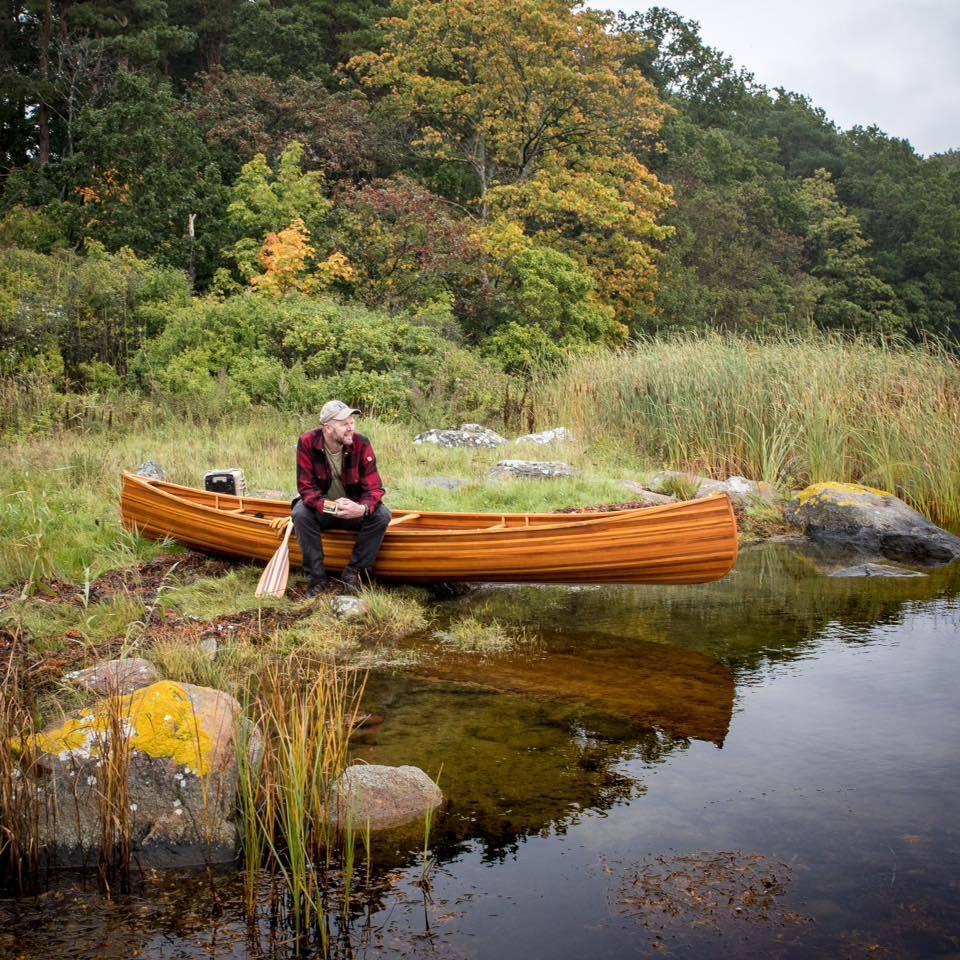 Nordmann® Red-Oak  Echtholz Zweier Kanu in 2 Längen 4… |