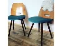 Mid-Century Gorgeous Iconic Czech Chairs Designed by František Jirák Vintage