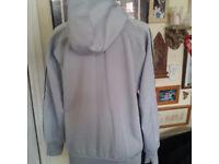 Grey ladies Adidas climawarm track top UK size 8-12