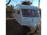 Fleetwood Island Sumatra Special Edition Caravan 5 berth 2001. Inc full size awning & motor mover