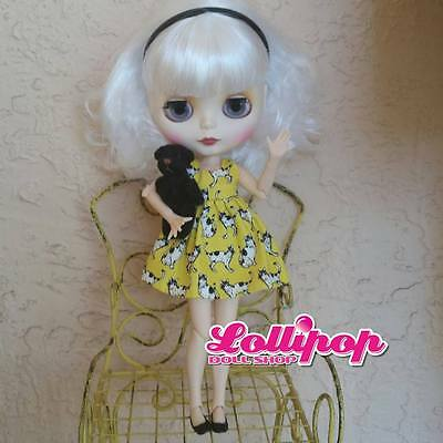 Factory Type Neo Blythe Doll White Hair, Jointed, Outfit, Accessory