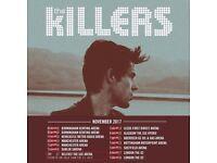 The Killers - Birmingham - 1x Standing Ticket