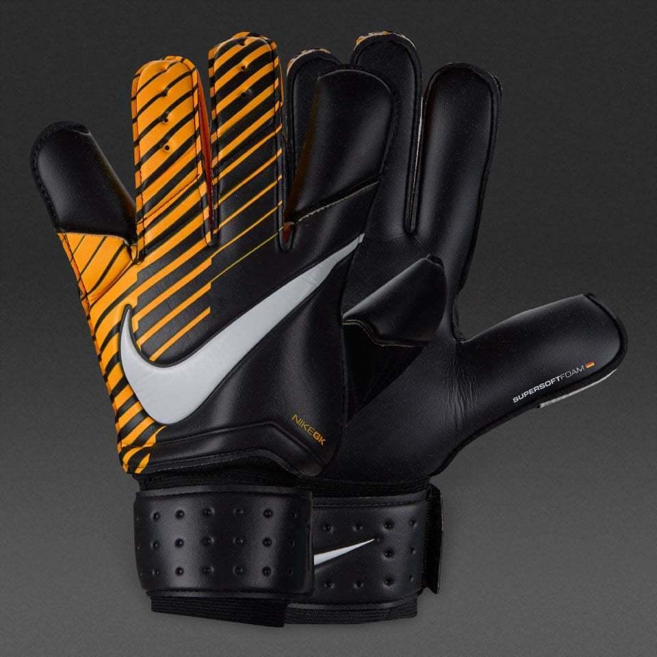 Nike Grip 3 TW Torwart Fussball Handschuhe GS0342-010 schwarz-orange Neu Schuhe