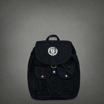 NWT Aberrombie Classic Backpback navy blue womens bag purse