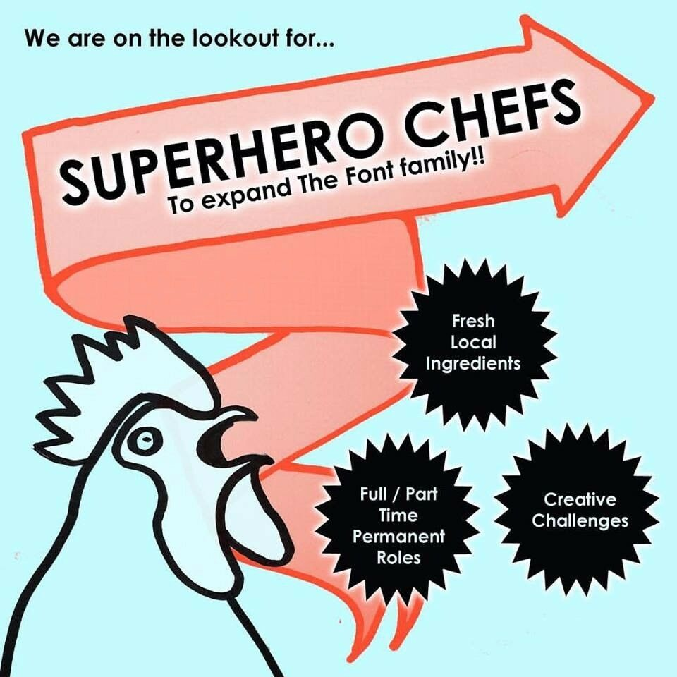 Superhero Chefs Wanted!