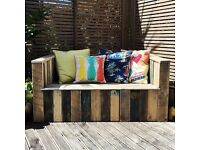 pallet style eco outdoor furniture