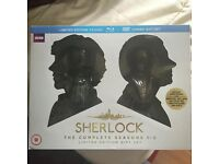 Limited Edition Sherlock DVD Gift Set With Busts